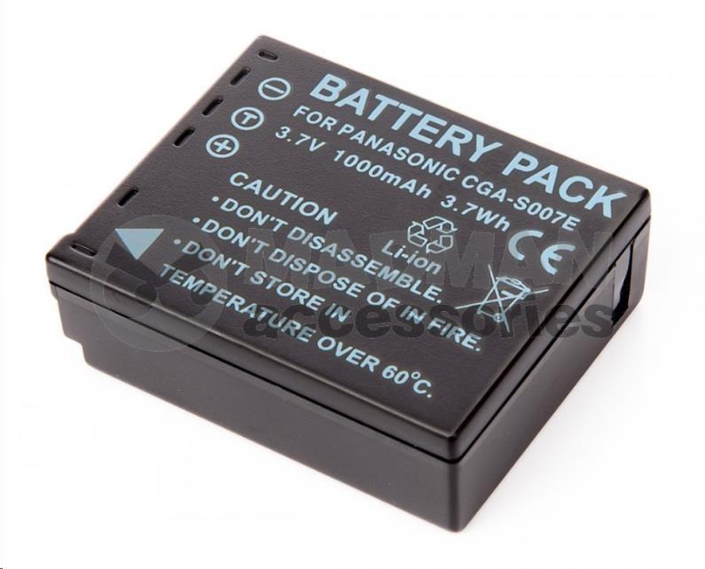 MadMan Baterie pro Panasonic CGA-S007
