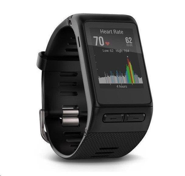 Garmin monitorovací náramek a hodinky vívoactive Black Optic (vel.XL)
