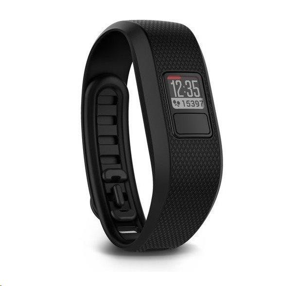 Garmin monitorovací náramek a hodinky vívofit3 Black (vel. XL)
