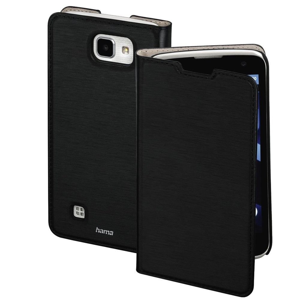 Hama Slim Booklet Case for LG K4 LTE, black