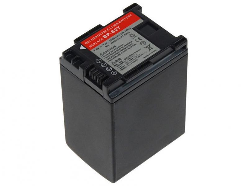 AVACOM Canon BP-807, BP-809, BP-819, BP-827 Li-Ion 7.4V 2580mAh 19.1Wh verze 2011