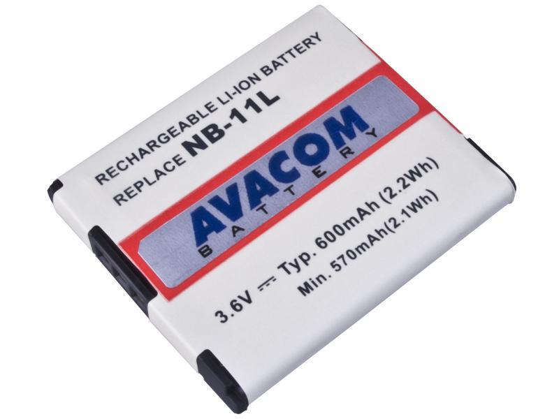 AVACOM Canon NB-11L Li-Ion 3.7V 600mAh 2.2Wh