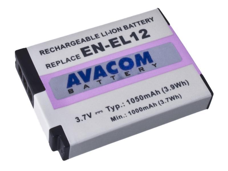 AVACOM Nikon EN-EL12 Li-ion 3.7V 1050mAh 3.9Wh verze 2011