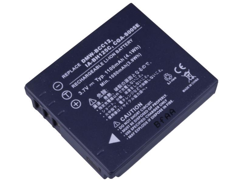 AVACOM Panasonic CGA-S005, Samsung IA-BH125C, Ricoh DB-60, Fujifilm NP-70 Li-ion 3.7V 1100mAh 4.1Wh NEW