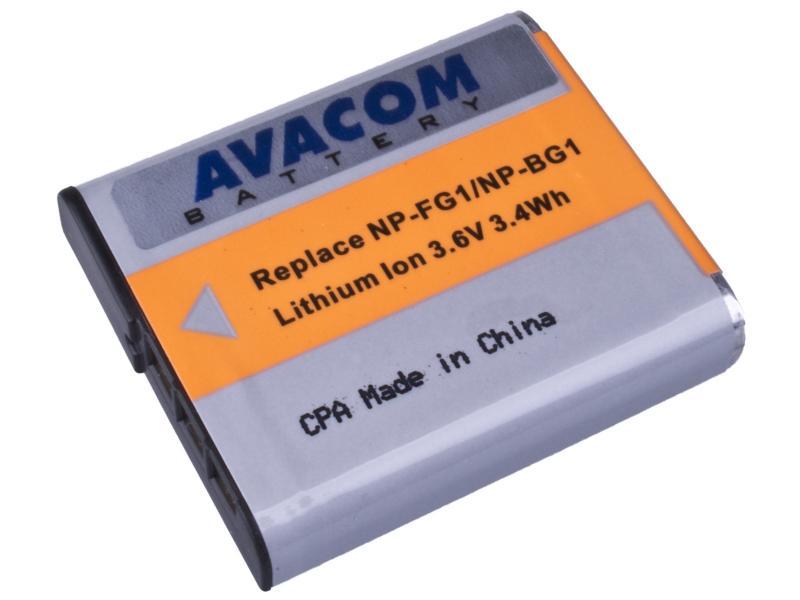 AVACOM Sony NP-BG1N, FG1 Li-ion 3.6V 950mAh 3.4Wh (oranžový index - verze NEW 2011 )