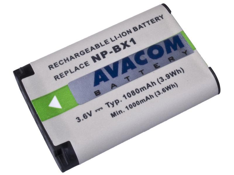 AVACOM Sony NP-BX1 Li-ion 3.6V 1080mAh 3.9Wh verze 2012
