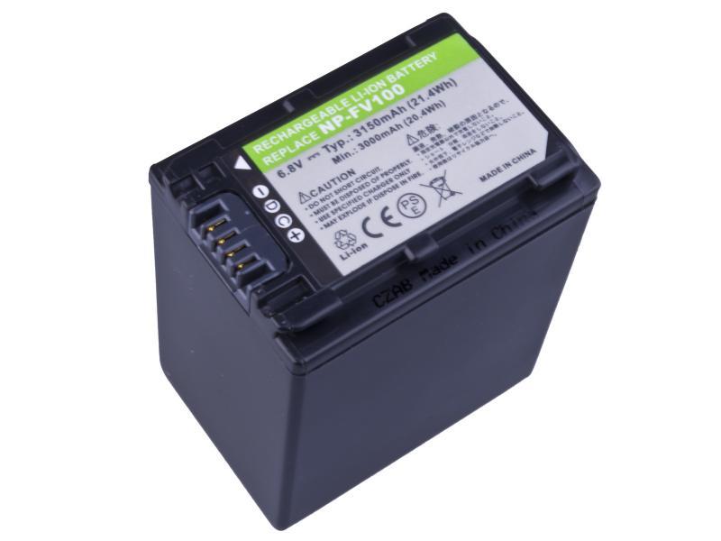 AVACOM Sony NP-FV100 Li-ion 6.8V 3150mAh 21.4Wh verze 2011