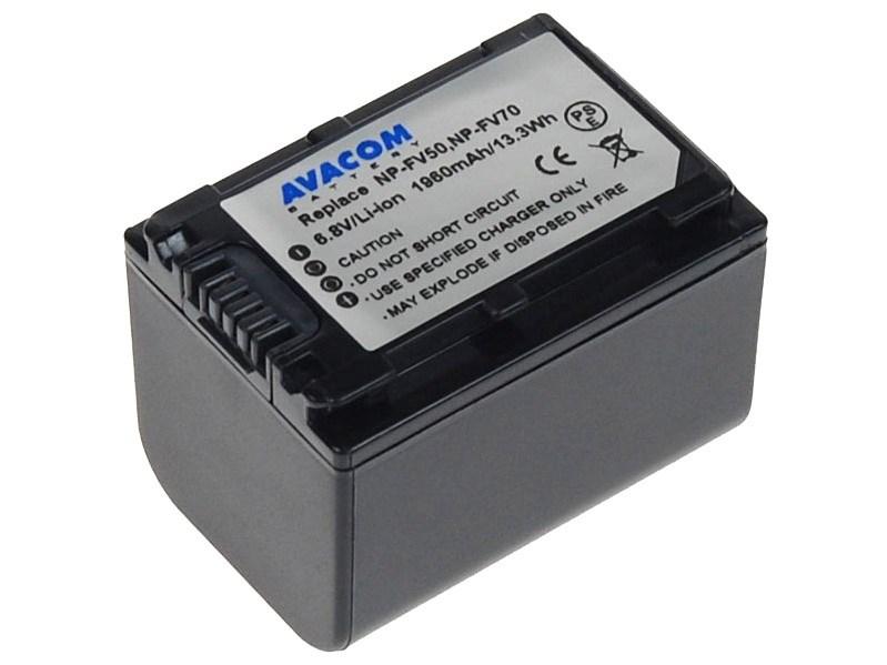 AVACOM Sony NP-FV70 Li-ion 6.8V 1960mAh 13Wh verze 2011