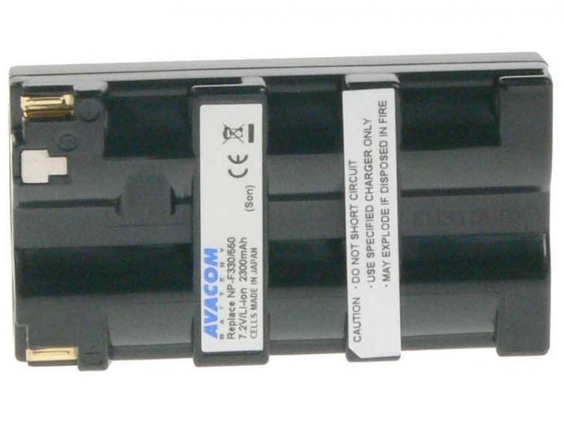 AVACOM Sony NP-F550 Li-ion 7.2V 2300mAh 16.6Wh verze 2009 černá