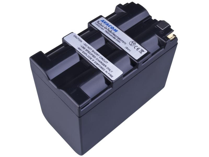 AVACOM Sony NP-F970 Li-ion 7.2V 7800mAh 56.2 Wh černá