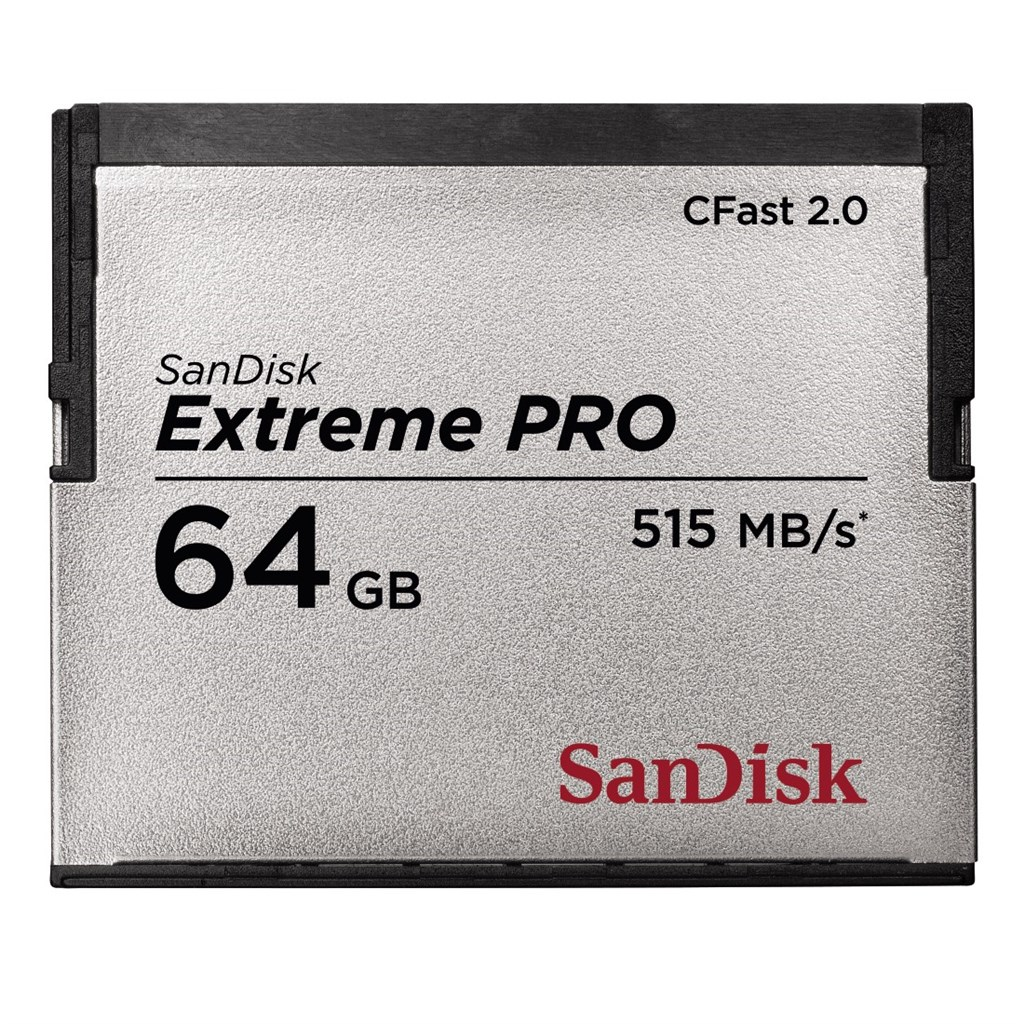 SanDisk Extreme Pro CFAST 2.0 64 GB 515 MB/s