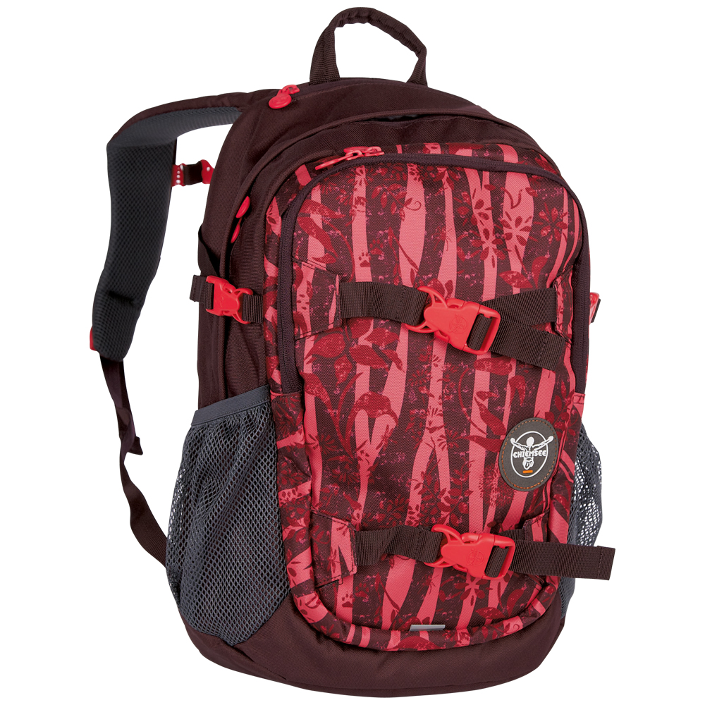 Chiemsee School backpack S16 Zebra flower