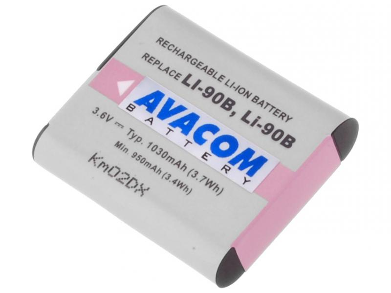 AVACOM Olympus LI-90B, LI-92B Li-ion 3.7V 1080mAh 3.9Wh