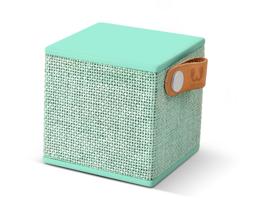 FRESH ´N REBEL Rockbox Cube Fabriq Edition Bluetooth reproduktor, Peppermint, světle zelený