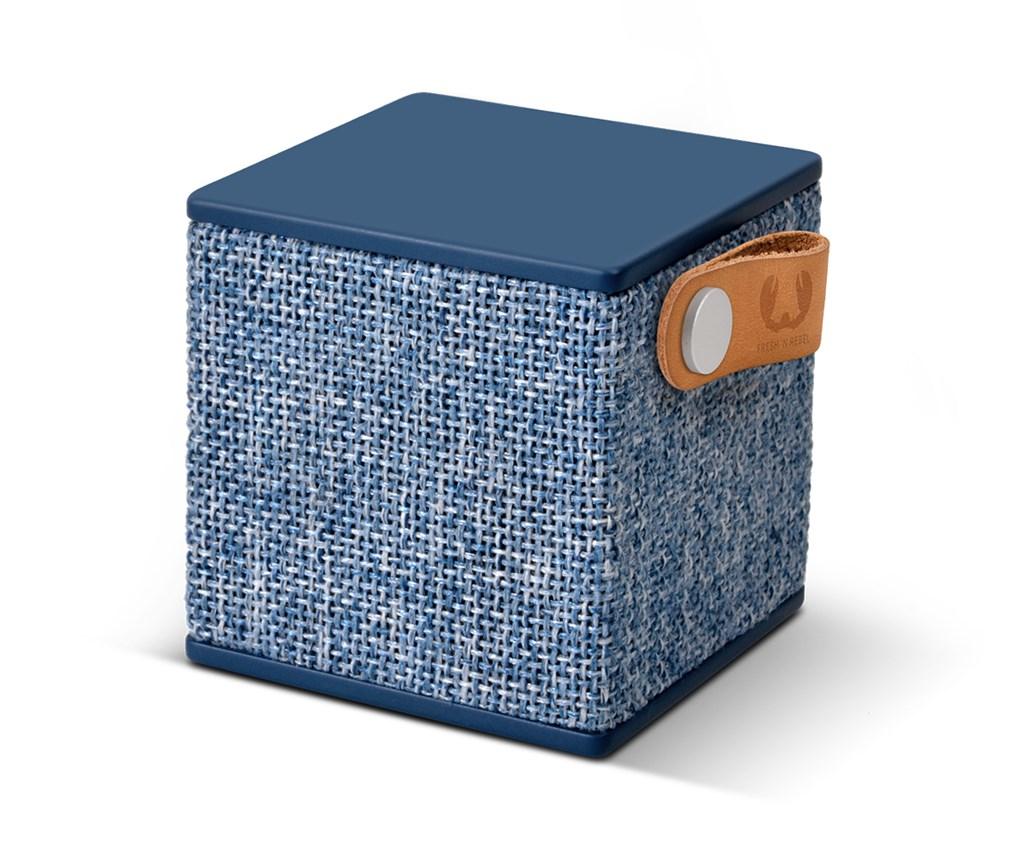 FRESH ´N REBEL Rockbox Cube Fabriq Edition Bluetooth reproduktor, Indigo, indigově modrý