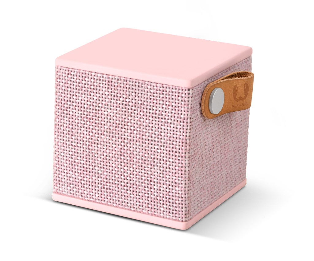 FRESH ´N REBEL Rockbox Cube Fabriq Edition Bluetooth reproduktor, Cupcake, růžový