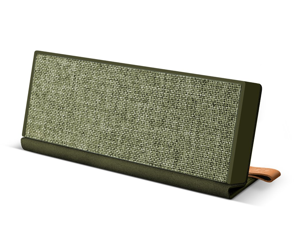 FRESH ´N REBEL Rockbox Fold Fabriq Edition Bluetooth reproduktor, Army, vojenská zelená