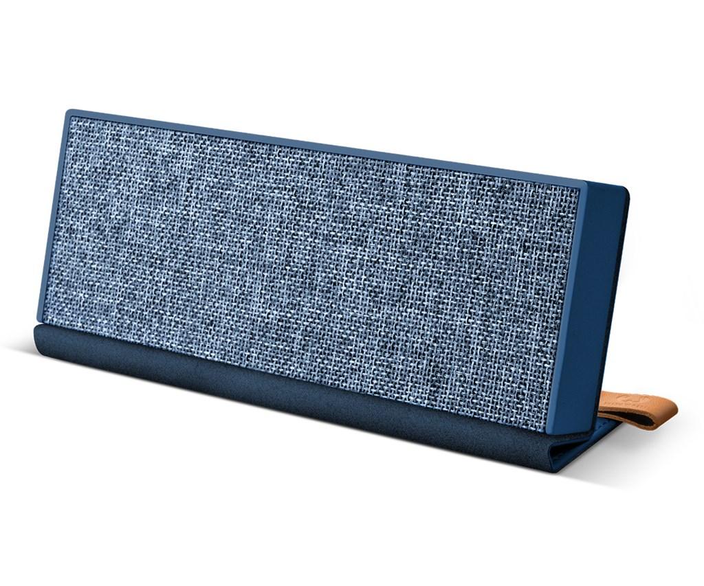 FRESH ´N REBEL Rockbox Fold Fabriq Edition Bluetooth reproduktor, Indigo, indigově modrý