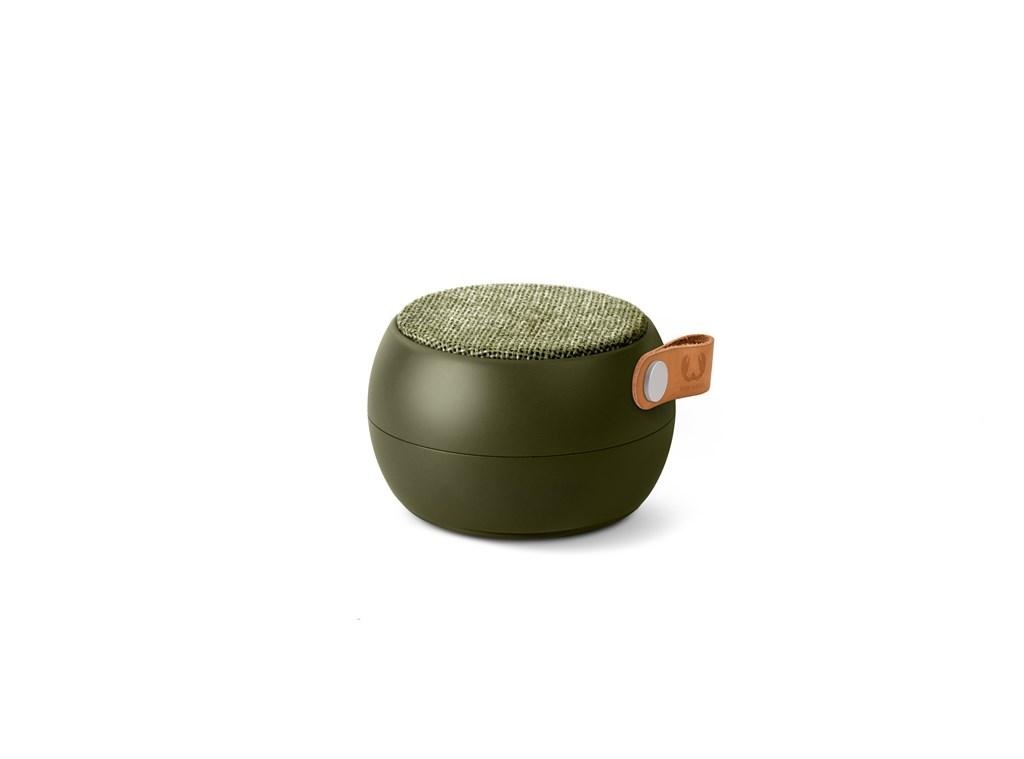FRESH ´N REBEL Rockbox Round H2O Fabriq Edition Bluetooth reproduktor, vojensky zelený