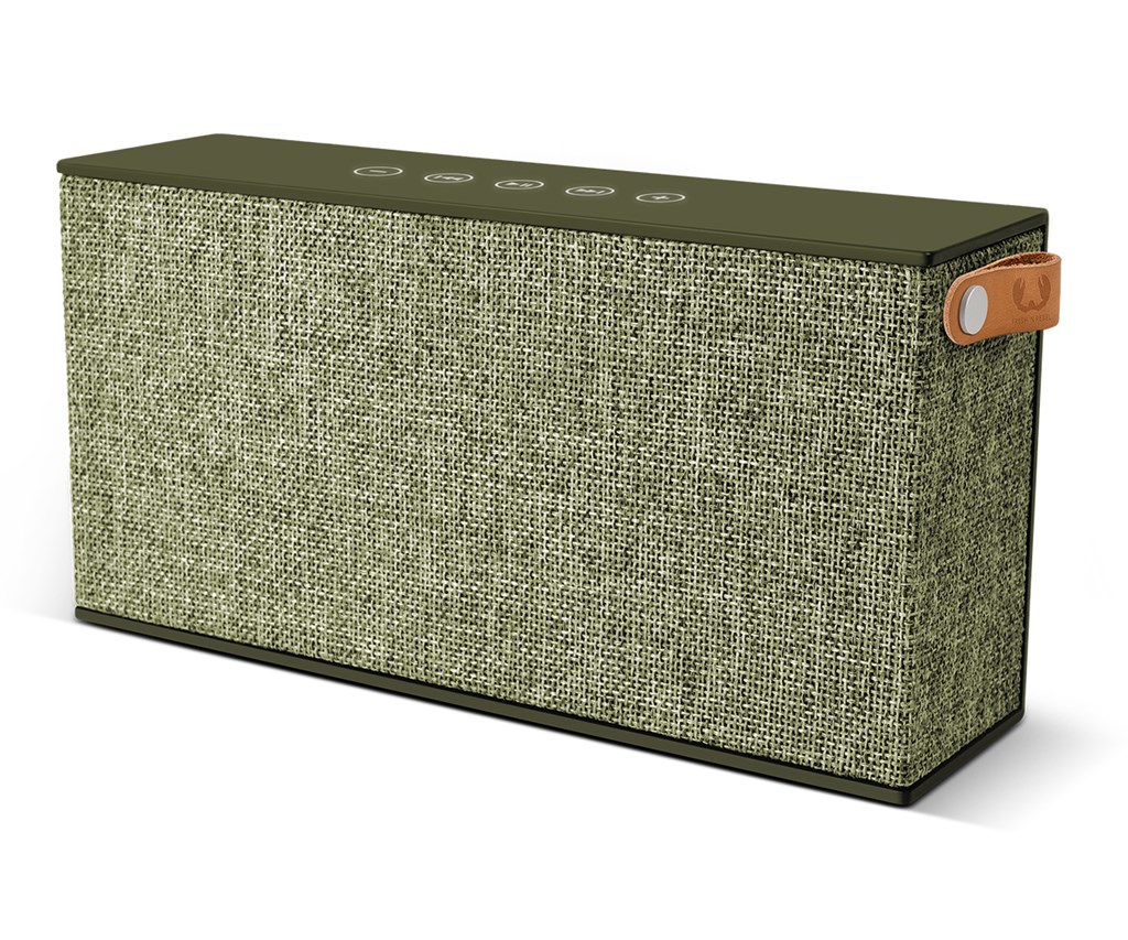 FRESH ´N REBEL Rockbox Chunk Fabriq Edition Bluetooth reproduktor, Army, vojensky zelený