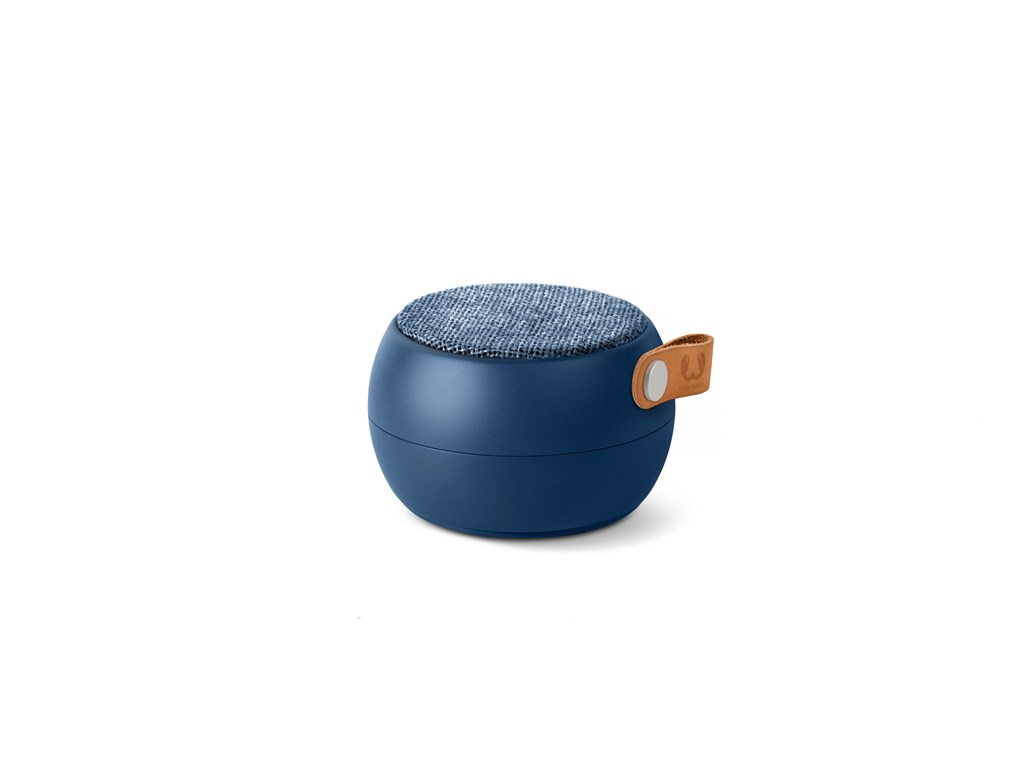 FRESH ´N REBEL Rockbox Round H2O Fabriq Edition Bluetooth reproduktor, indigově modrý