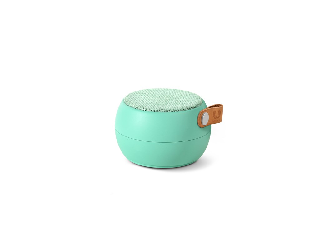 FRESH ´N REBEL Rockbox Round H2O Fabriq Edition Bluetooth reproduktor, světle zelený