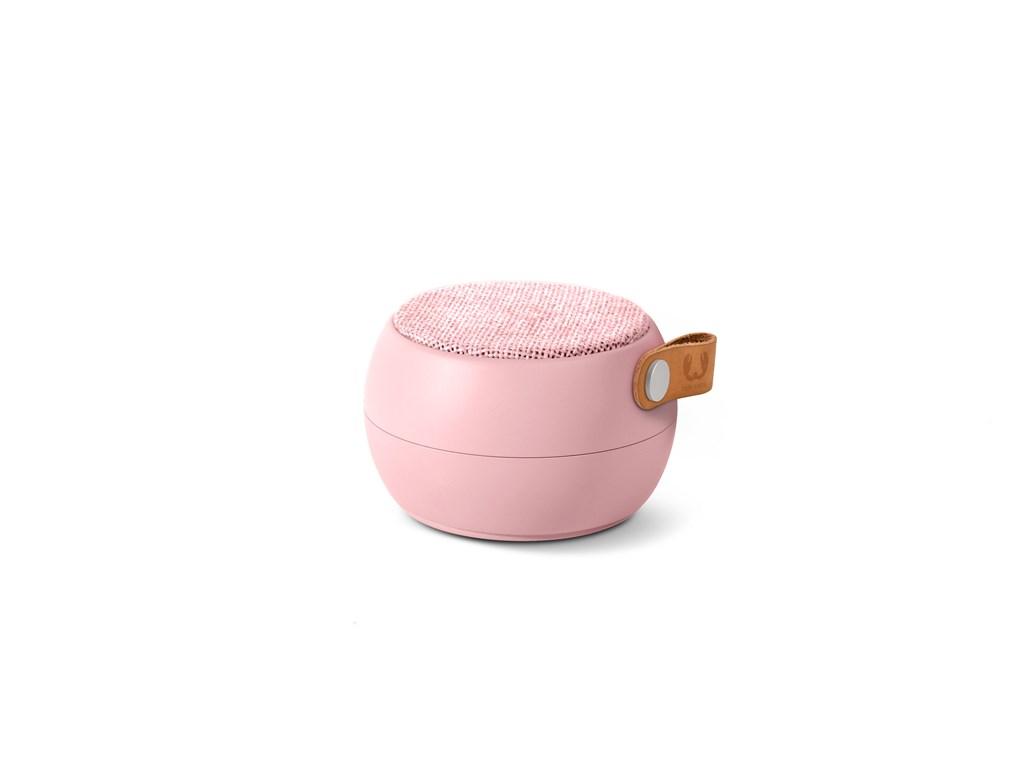 FRESH ´N REBEL Rockbox Round H2O Fabriq Edition Bluetooth reproduktor, růžový