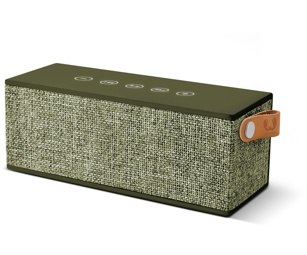 FRESH ´N REBEL Rockbox Brick Fabriq Edition Bluetooth reproduktor, Army, vojenská zelená