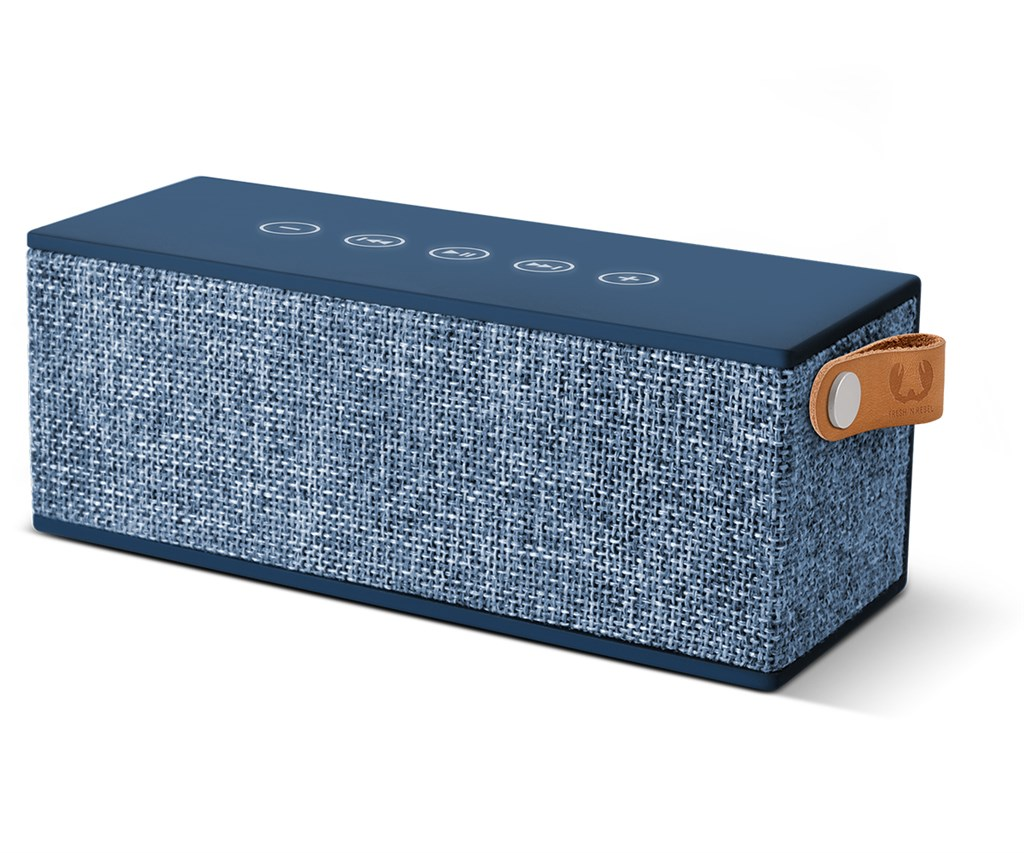 FRESH ´N REBEL Rockbox Brick Fabriq Edition Bluetooth reproduktor, Indigo, indigově modrý