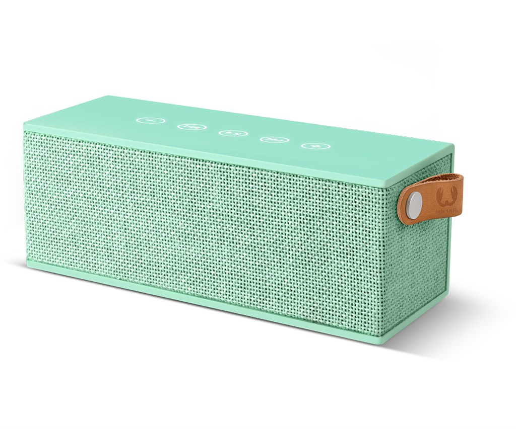 FRESH ´N REBEL Rockbox Brick Fabriq Edition Bluetooth reproduktor, Peppermint, světle zelený