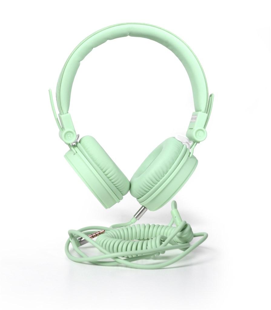 FRESH ´N REBEL Caps sluchátka, Peppermint, světle zelená