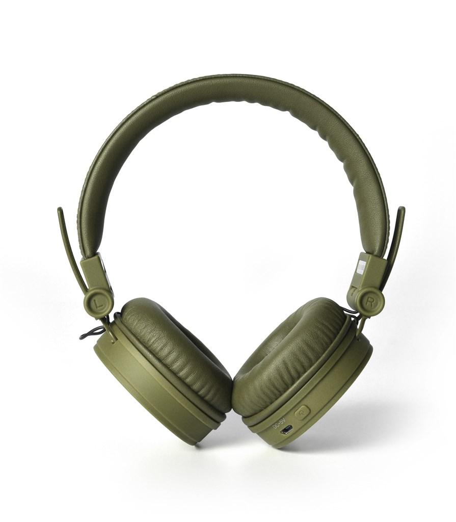 FRESH ´N REBEL Caps Bluetooth sluchátka, Army, vojenská zelená