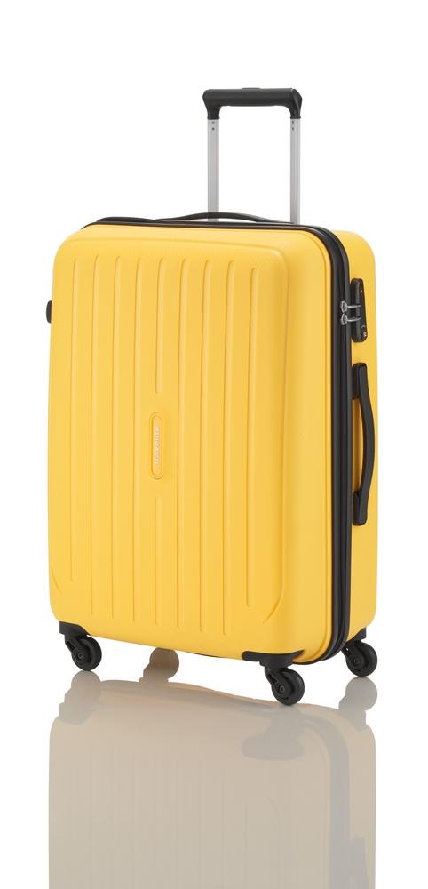 Travelite Uptown 4w S,M,L Yellow – sada 3 kufrů
