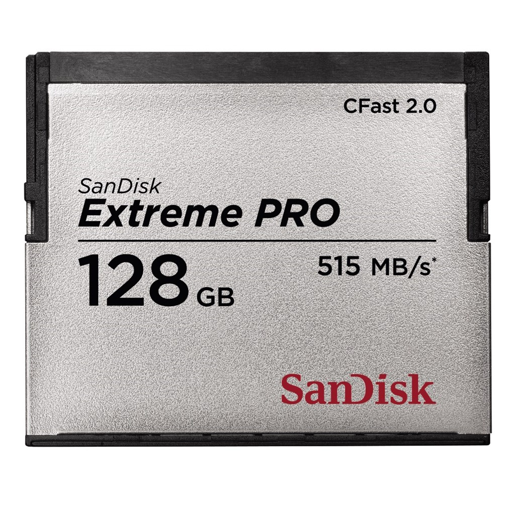 SanDisk Extreme Pro CFAST 2.0 128 GB 515 MB/s