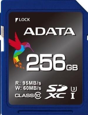 ADATA SDXC 256GB UHS-I U3 Class 10 Premier Pro