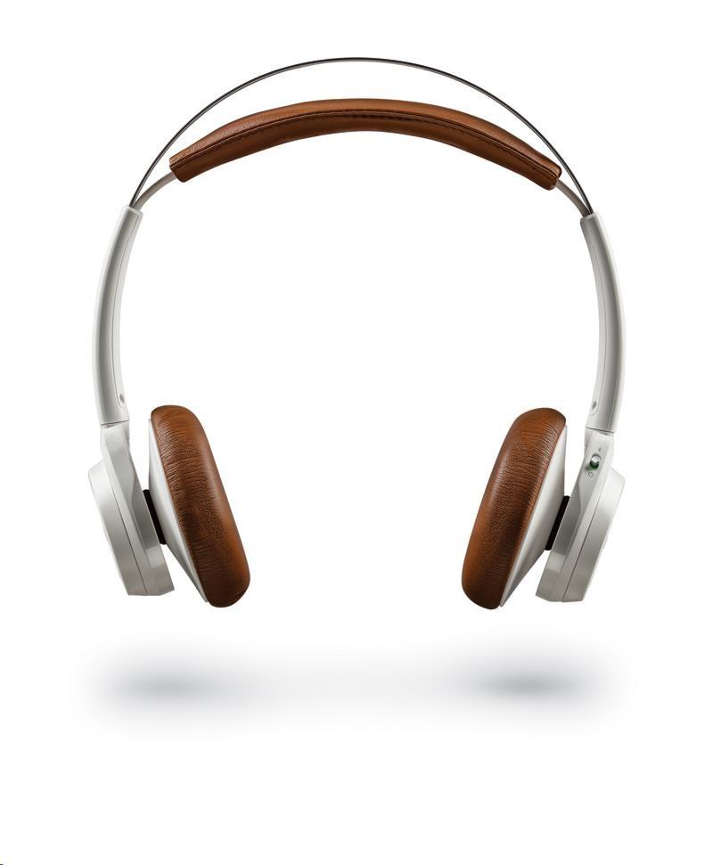 PLANTRONICS Stereo Headset Backbeat SENSE, Bluetooth v4.0+EDR, bíl