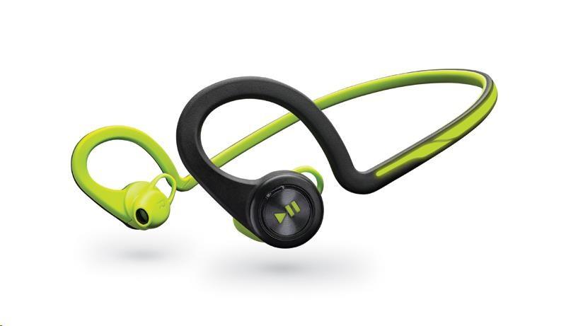 PLANTRONICS Stereo Headset Backbeat FIT, Bluetooth v3.0, zelený