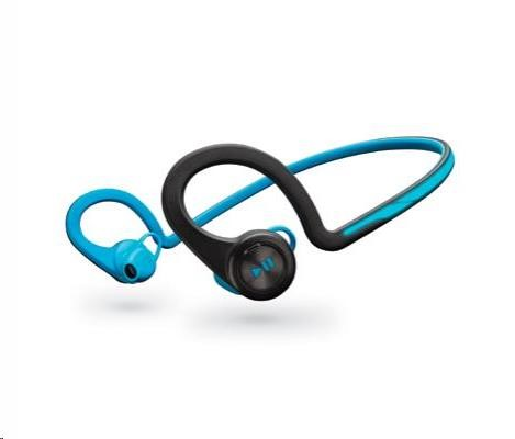 PLANTRONICS Stereo Headset Backbeat FIT, Bluetooth v3.0, modrý
