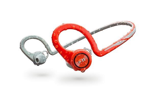 PLANTRONICS Stereo Headset Backbeat FIT, Bluetooth v3.0, červený