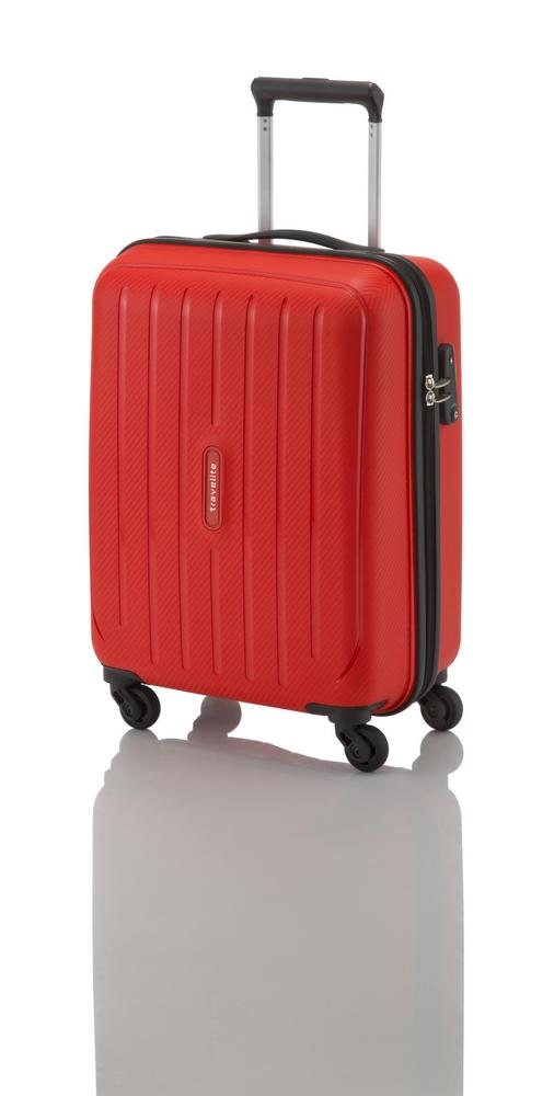 Travelite Uptown 4w S,M,L Red – sada 3 kufrů