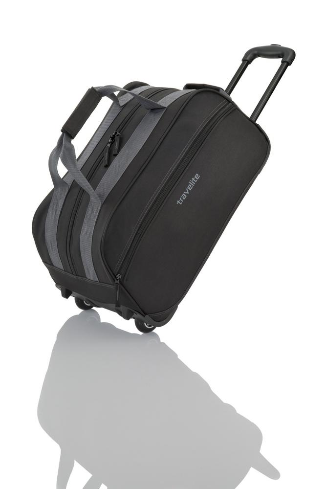 Travelite Basics Small Wheeled Duffle Black