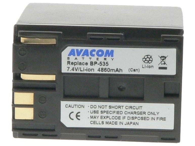 AVACOM Canon BP-535 Li-Ion 7.4V 4860mAh 36Wh