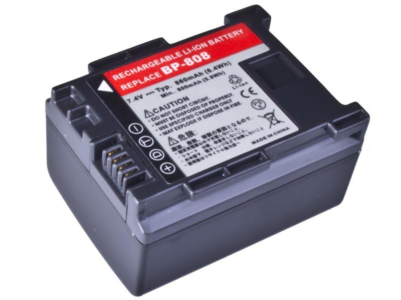 AVACOM Canon BP-808 Li-Ion 7.4V 860mAh 6.4Wh verze 2012