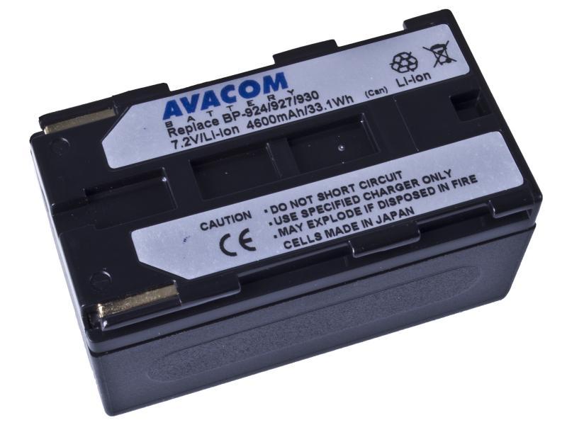 AVACOM Canon BP-924/927/930 Li-Ion 7.2V 4600mAh 33.1Wh
