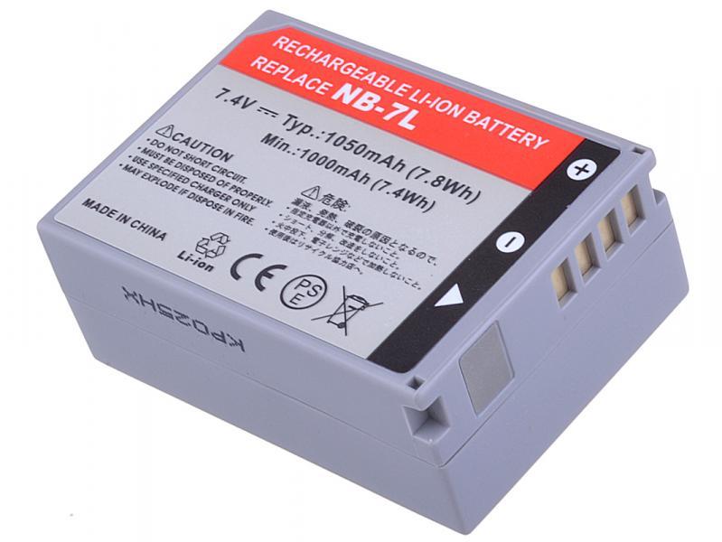 AVACOM Canon NB-7L Li-Ion 7.4V 1050mAh 7.8Wh verze 2011
