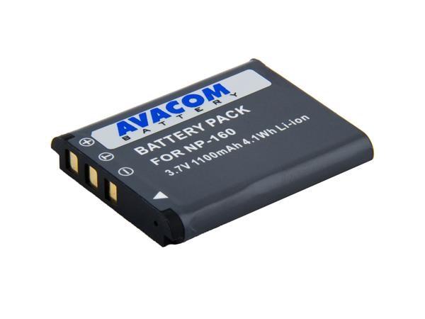 AVACOM Casio NP-160 Li-Ion 3.7V 1050mAh 3.9Wh