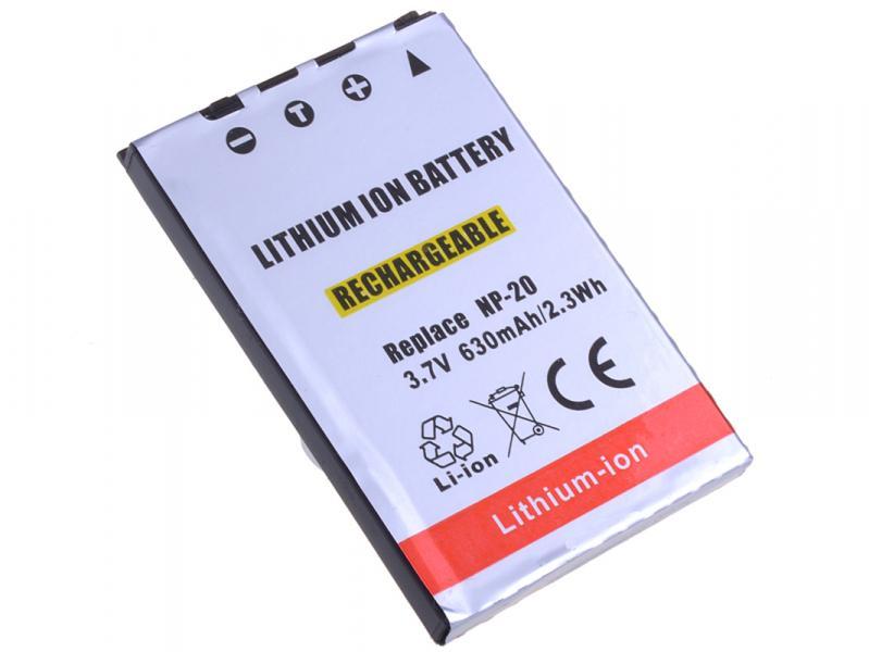 AVACOM Casio NP-20 Li-Ion 3.7V 630mAh 2.3Wh