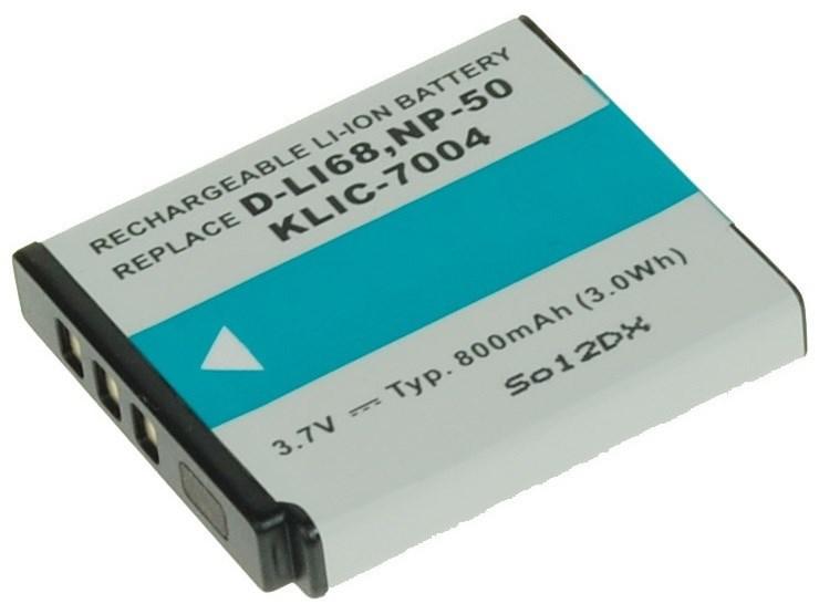 AVACOM Fujifilm NP-50, Kodak KLIC-7004, Pentax D-LI68 Li-Ion 3.7V 800mAh 3Wh