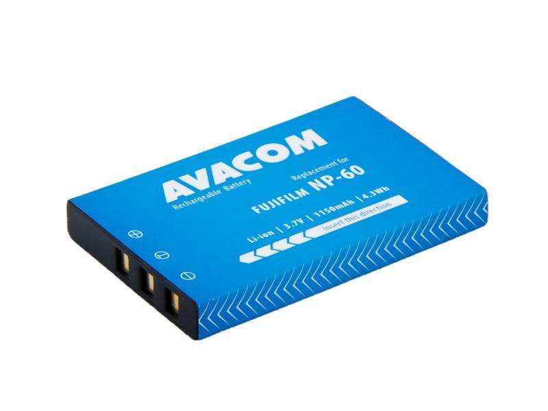 AVACOM Fujifilm NP-60, Kodak KLIC-5000, Olympus LI-20B, Samsung SLB-1037, SLB-1137 Li-Ion 3.7V 1150mAh 4.3Wh