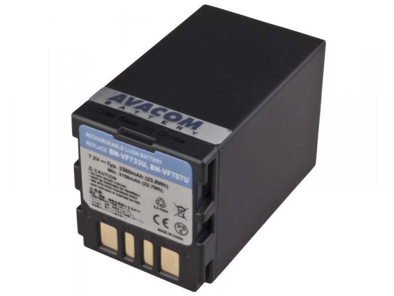 AVACOM JVC BN-VF733 Li-Ion 7.2V 3300mAh 23.8Wh